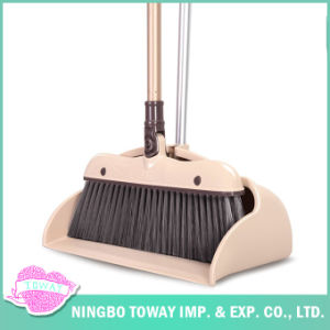 Soft Best Sweeping Fine Bristle Plastic Shop Wood Floor Broom pictures & photos