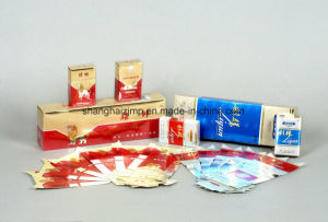 Embossing Printed Metallic Paperboard for Cigarette packaging pictures & photos