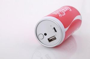 New creative soft drinking 2600mAh power bank pictures & photos