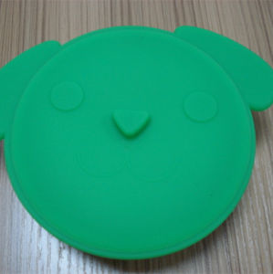 Collapsible Green Color Dog Shape Container pictures & photos