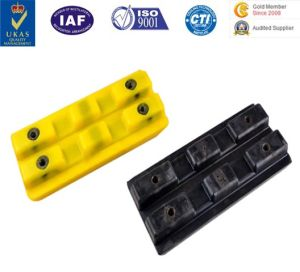 PU Crawer/Pedrail/Caterpillar/Track Block for Construction Machine pictures & photos