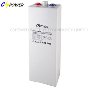 Cspower Tubular Plate Gel Battery Opzv Battery 2V 350ah pictures & photos