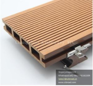 Eco-Friendly and Waterproof Wood Plastic Composite Decking pictures & photos
