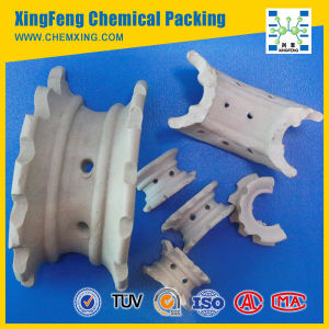 Ceramic Super Intalox Saddle Ring Packing for Drying Tower pictures & photos