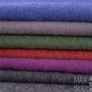 100% Durable Wool Fabric for Winter in Gray pictures & photos