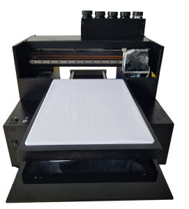 Hot Sale Cheapest Small A3 Size Digital Flatbed Inkjet Printer to Print on Garment pictures & photos
