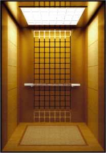 Machine Room Less Resplendent Hotel Elevator for Passengers pictures & photos
