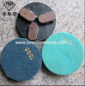 Resin Bond Diamond Marble Flexible Polishing Pad with Velcro pictures & photos
