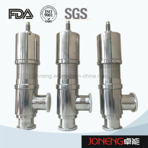 Stainless Steel Sanitary Pneumatic Safety Relief Valve (JN-SV1001) pictures & photos