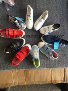 New Stocks Footwear Women Injection Canvas Shoes Leisure Shoes (FFCS505-2) pictures & photos
