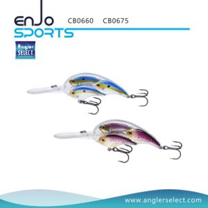 Angler Select School Fish Crankbait Deep Diving Fishing Tackle Lure with Bkk Treble Hooks (CB0675) pictures & photos