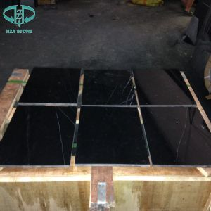 Black Nero Marquina, Black Marble, Marble Slabs pictures & photos