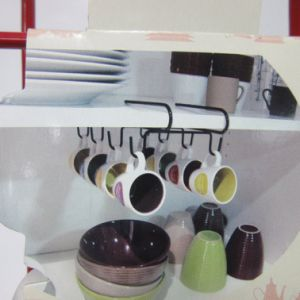 Iron Painting Cup Holder Rack Mugs pictures & photos