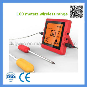 100 Meters Smart Bluetooth Remote Oven Meat Thermometer for Grill pictures & photos