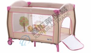 En716 Approved Baby Playpen with Luxury Mosquito Net