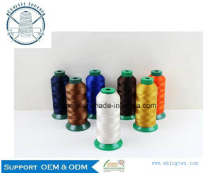 High Tenacity 100% Nylon 210d/3 250d/2 Dyed Sewing Thread Wholesale #10 20# 30# 40# pictures & photos