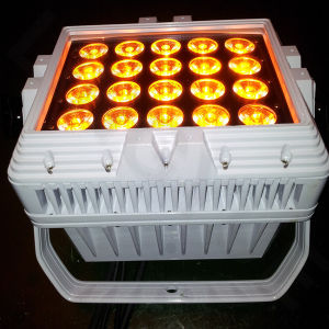 Outdoor 20PCS DMX 512 RGBWA 5in1 15W LED PAR Light pictures & photos