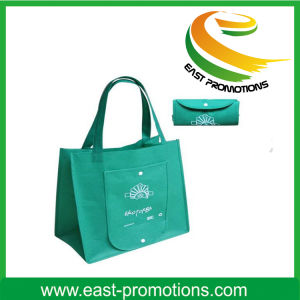 Portable Foldable Supermarket Trolley Non Woven Bag for Shopping pictures & photos