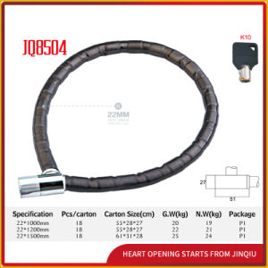 Jq8504competitive Price Bicycle Lock Motorcycle Joint Lock Iron Bicycle Lock pictures & photos