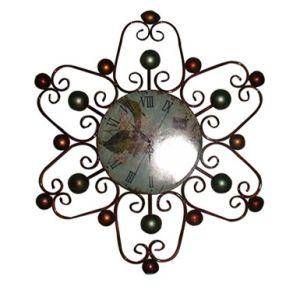 Beautiful Hexagonal Iron Craft Wall Clock Antique Designs pictures & photos
