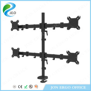 Jeo Hot Sale Factory Price Four Screen Display Ys-D29g-2 Desk Clamp Monitor Riser pictures & photos