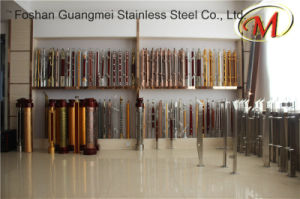 Stainless Steel and Wood Railing Pillars pictures & photos