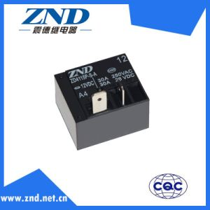 Zd4115p (T93) - A4-12V-30A Power Relay for Industrial Machine Components Use Miniature Relay Contact Switch 30A