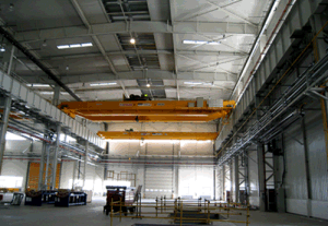 Prefabricated Steel Structure Building with Crane pictures & photos