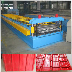 1100 Color Tile Steel Forming Machine by Jk pictures & photos