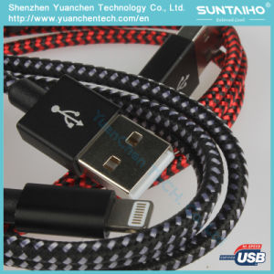 Nylon Cable High Speed USB Cable Lightning Cable pictures & photos