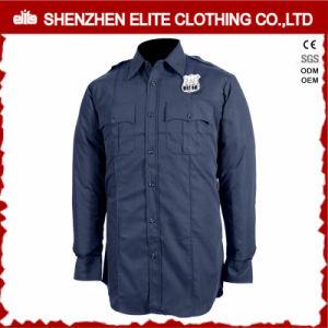 Safety Cotton Work Clothes Security Guard Uniforms (ELTHVJ-315) pictures & photos