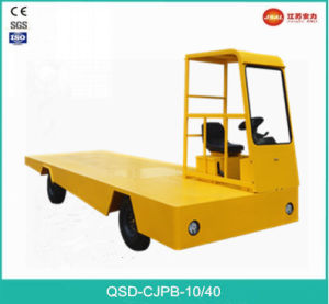 Classic Design 1.0 Ton 4-Wheel Side Drive Electric Platform Truck