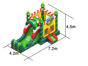 Snowman Theme Inflatable Jumping Bouncer with Slide (CHB1129-1) pictures & photos