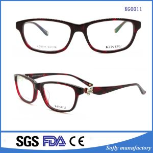 China Spectacle Designers Acetate Eyeglasses Frames Manufacturers pictures & photos