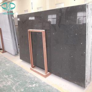 Artificial Stone Quartz/Artificial Pure/Yellow/Black/Grey/White/Crystal/Pink/Green/Red/Sparkles Quartz pictures & photos