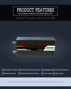3000W Solar Power Inverter for Solar off Grid Power System pictures & photos