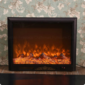 Home Furniture High Carbon Steel Electric Fireplace Heater (A-803) pictures & photos