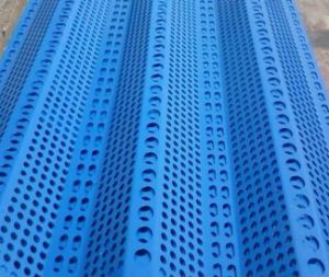 Powder Coated Steel Peaks Wind Dust Proof Netting pictures & photos