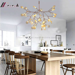 European Decorative White Acrylic Leaf Chandelier Light pictures & photos