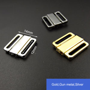 12mm Bra Metal Clip in Silver Gold Black Gunmetal pictures & photos