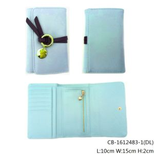 Lady′s Fashion High Quality PU Leather Purse (CB-1612483-1) pictures & photos