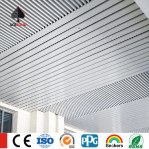 Decorative Ceiling Tiles Aluminium False U Box Curtain Ceiling pictures & photos