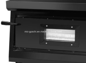 Sc-2-1 High Quality Commercial Electric Pizza Oven with Black pictures & photos
