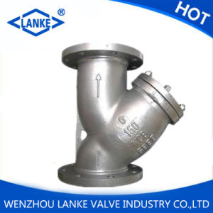 """API 3"""" Class 150 Wcb Flanged Y Pattern Strainer pictures & photos"""