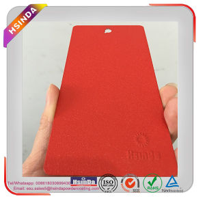 Ral 3020 Traffic Red Color Paint Water/Skin/Leaf/Vein Wrinkle Texture Powder Coating pictures & photos