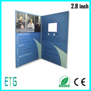 "2.8"" Customized LCD Video Business Card pictures & photos"