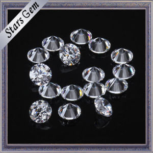 1-3mm Round Brilliant Cut Cubic Zirconia for Jewelry pictures & photos