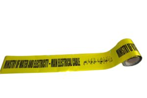 Crime Scene Police Warning Tape Underground Detectable Warning Tape pictures & photos