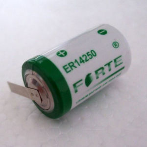 AA Lithium Battery, 3.6V Er14250 1200mAh Battery Used in Water Meter, Gas Meter pictures & photos
