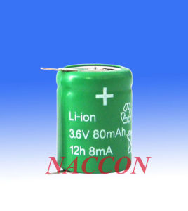 Naccon Li-Ion Rechargeable Batteries and Packs with Sleeve pictures & photos